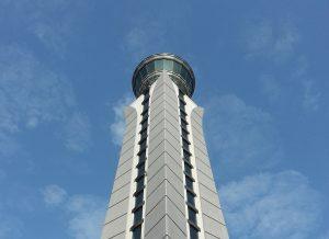 A Tex ATC air traffic control room