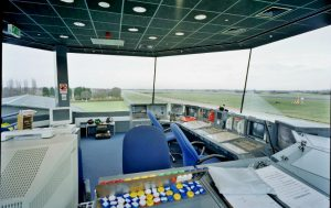 Inside a Tex ATC air traffic control tower room (ATCR/VCR)