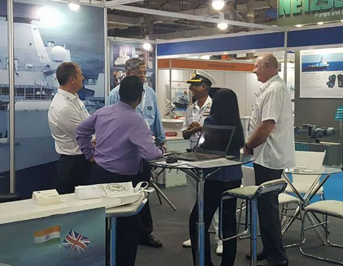 Pratex Power Vision working with the Indian and UK Navy